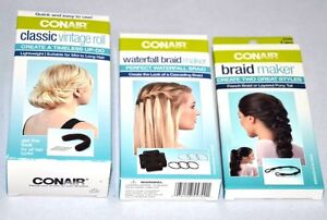 New Conair Waterfall Braid Maker Clic Vintage Roll