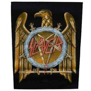 Slayer-Golden-Eagle-Back-Patch-Official-Backpatch-Heavy-Metal-New