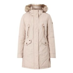 where to buy retail prices picked up Details zu camel active Damen Parka Mantel Web-Pelz Herbstjacke  Übergangsjacke Jacke NEU