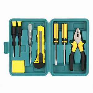 8Pcs-Hand-Repair-Tool-Kit-Household-Case-DIY-Hand-Tool-Box-Household-Use-Tool