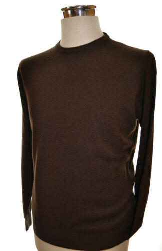 Italy 50 Coul Leur 100 Cachemire Piana Homme Panicale Pull Taille Brun 1RxZIqzn