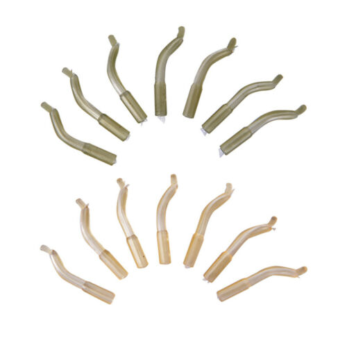 TG 30Pcs Carp Fishing Accessories Hook Sleeve Hair Rig Aligner Soft Positioner