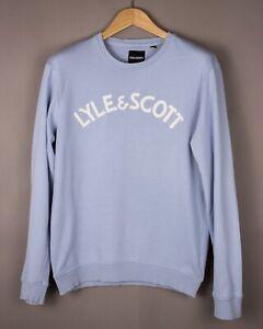 LYLE & SCOTT Herren Freizeit Pullover Sweatshirt Größe M ASZ927