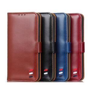 Pour-LG-K20-K30-K50s-G8-X-Multi-Flip-Portefeuille-en-Cuir-Sac-A-Main-Carte-Etui-Support