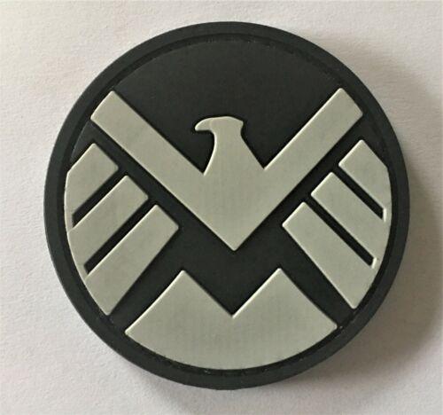 Fury Hydra 371 Agents of S.H.I.E.L.D Marvel PVC Patch #1 Hook /& Loop