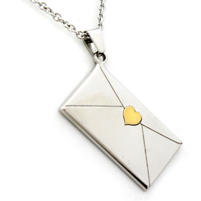 Envelope Necklace Pendant Daughter Gifts from Mom Dad Gifts for Girls Jewelry