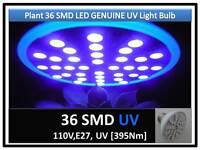 5th Gen Plant Grow 36smd Led Uv 395nm Light Bulb 110v E27 Usa Engineer Certified