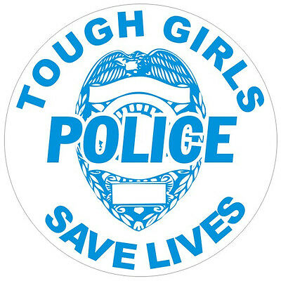 Female Police Officers Save Lives Decal Sticker #150