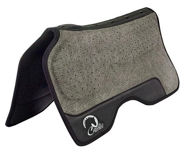 Cavallo Western FULL MONTY Weight Bearing Memory Foam Comfort  Balance Saddlepad  100% authentic