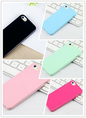 Colorful Soft Thin Cute Candy Rubber Gel Tpu Case Cover for iphone 5 5s popular