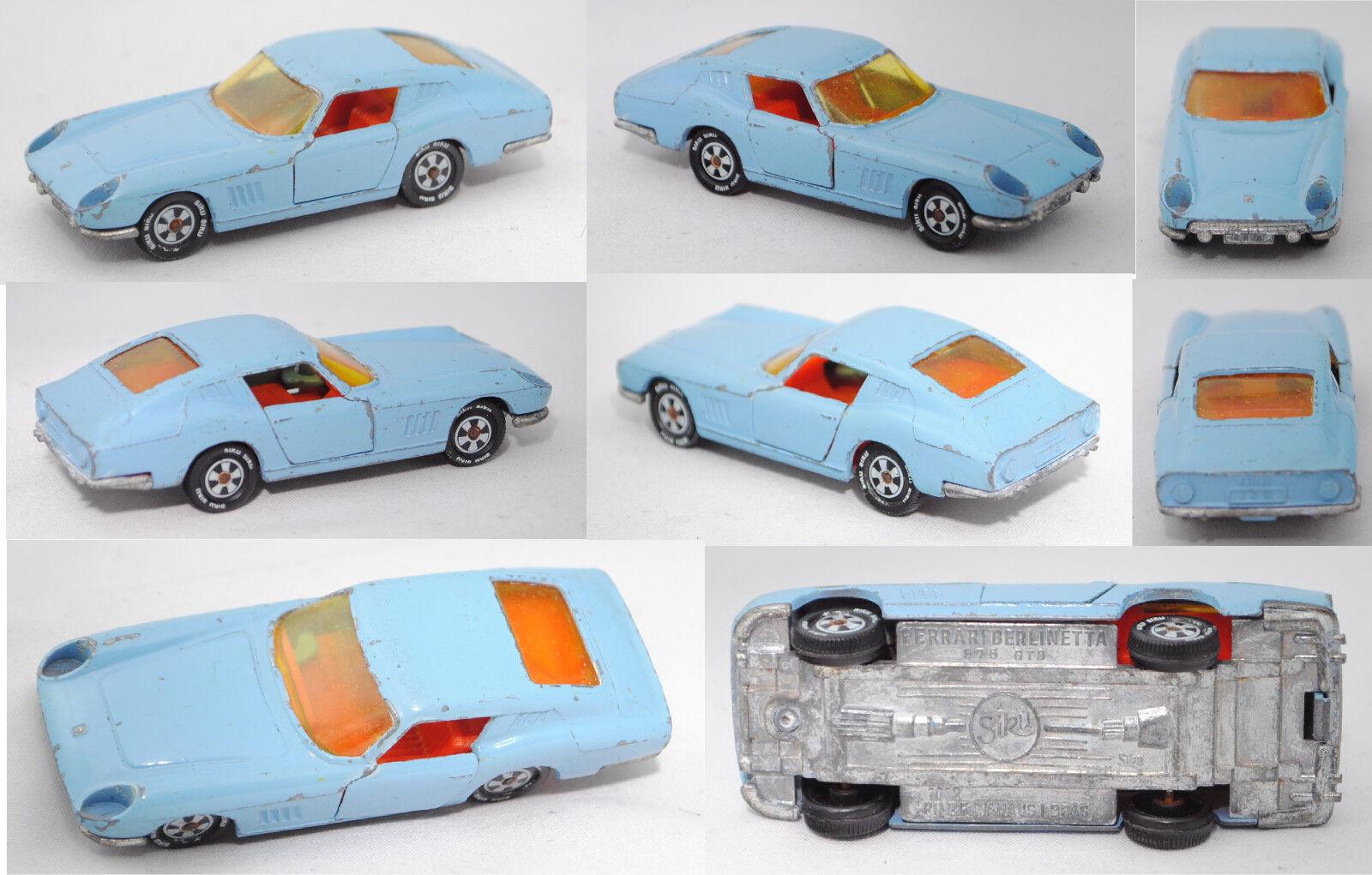 Siku Super 1012 ferrari berlinetta 275 GTB pr. z.f. manaus I. bras., siku brasil