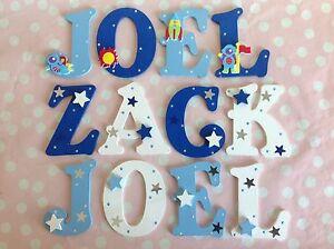 Personalisierte Kinderzimmer Wand Tür Holz Buchstaben Namensschild ...