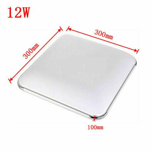Silber Deckenleuchte 12-128W Warmweiß LED Deckenlampe für Schlafzimmer Küche A++