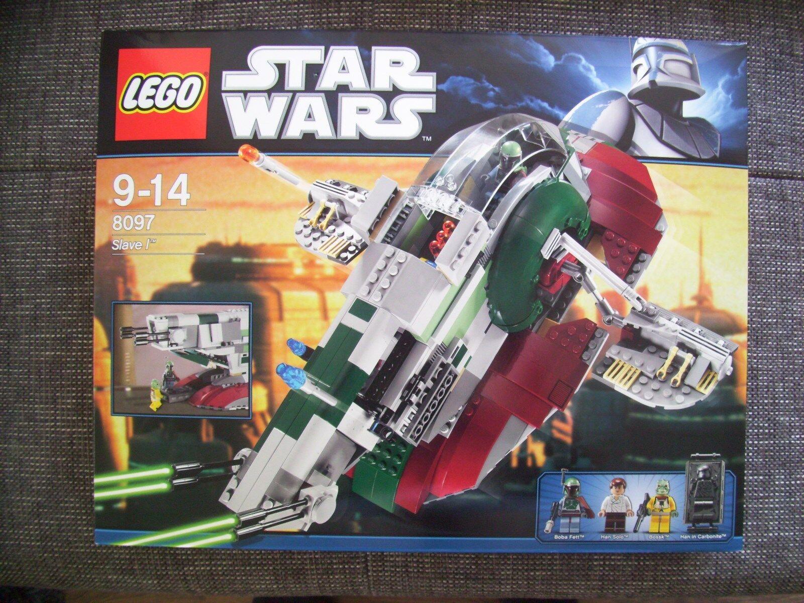 LEGO Star Wars  8097  Slave I    NEU   OVP ungeöffnet versiegelt