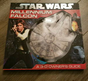 STAR-WARS-BOOK-MILLENNIUM-FALCON-YT-1300-3-D-OWNER-039-S-GUIDE-HARDCOVER