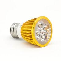 E27 5led 5w Energy Saving Red Blue Plant Grow Light Bulb Hydroponic Lamp Golden