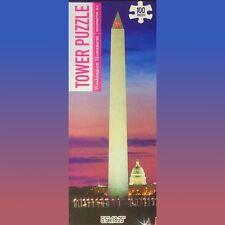 Tower Puzzle 'Washington Monument, Washington DC' 100 Piece Jigsaw Puzzle NEW