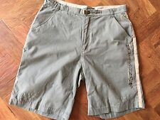 Mens Maui & Sons Shorts Kharki Beige Detail Size L