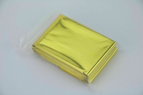 Rescue Blanket Gold Silver 210x160cm Rescue Foil Emergency Blanket First Aid