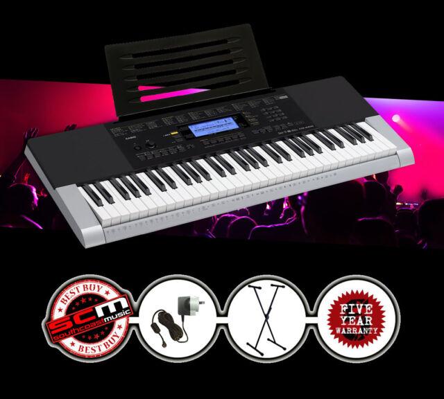 CASIO CTK4400 Portable Musical Keyboard + Stand + Adapter Brand New w/ Warranty!