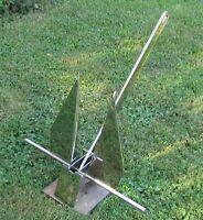 Stainless Fluke/ Danforth Style Boat Anchor 20 Lb