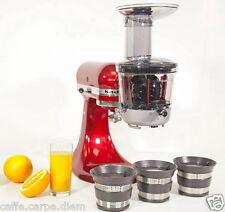 5KSM1JA Accessorio Estrattore lento di succo e salse per Robot Cucina KitchenAid