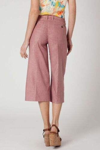 taglia 25 99 Level Anthropologie Tag colore rosa Pantaloni Lino Nw Cullotte 4wIwfZqAXB