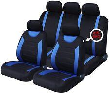 VAUXHALL CORSA B (1993-2001) 9 PCE Carnaby Blue/ Black Full Set CAR Seat Covers