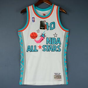 b2e90592fc1 100% Authentic Shawn Kemp Mitchell   Ness NBA All Star Swingman ...