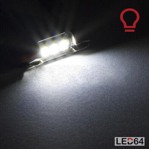 4 ampoules à LED veilleuses feux de plaque Volkswagen Scirocco Touran  Polo
