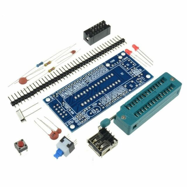 1PCS ATmega8 ATmega48 ATMEGA88 Development Board AVR (NO Chip) New K