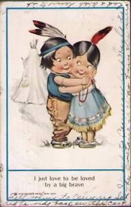 u0i-Postcard-Indian-Children