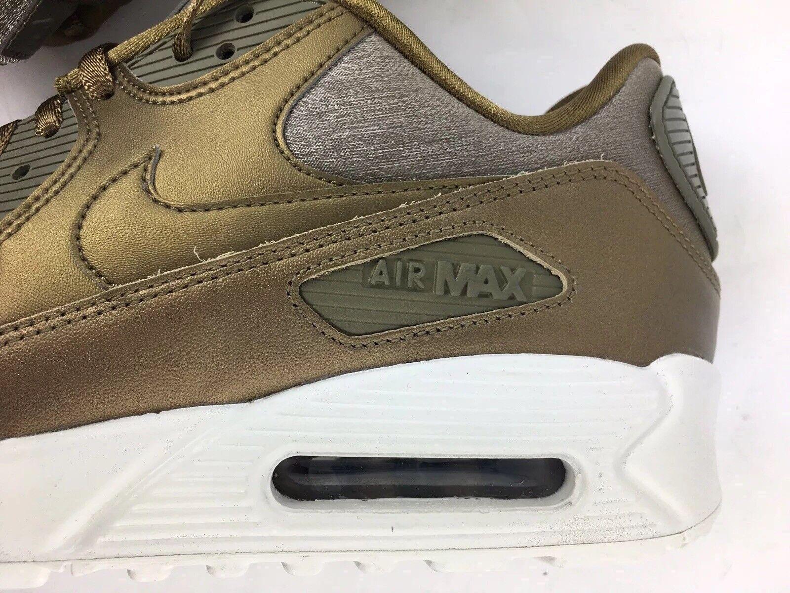 Womens Nike Air Max 90 Premium Metallic Bronze sz 10