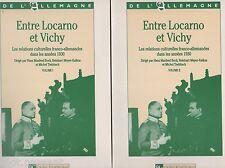 HIST. Entre Locarno et Vichy. Les relations culturelles franco-allemandes, 1930.