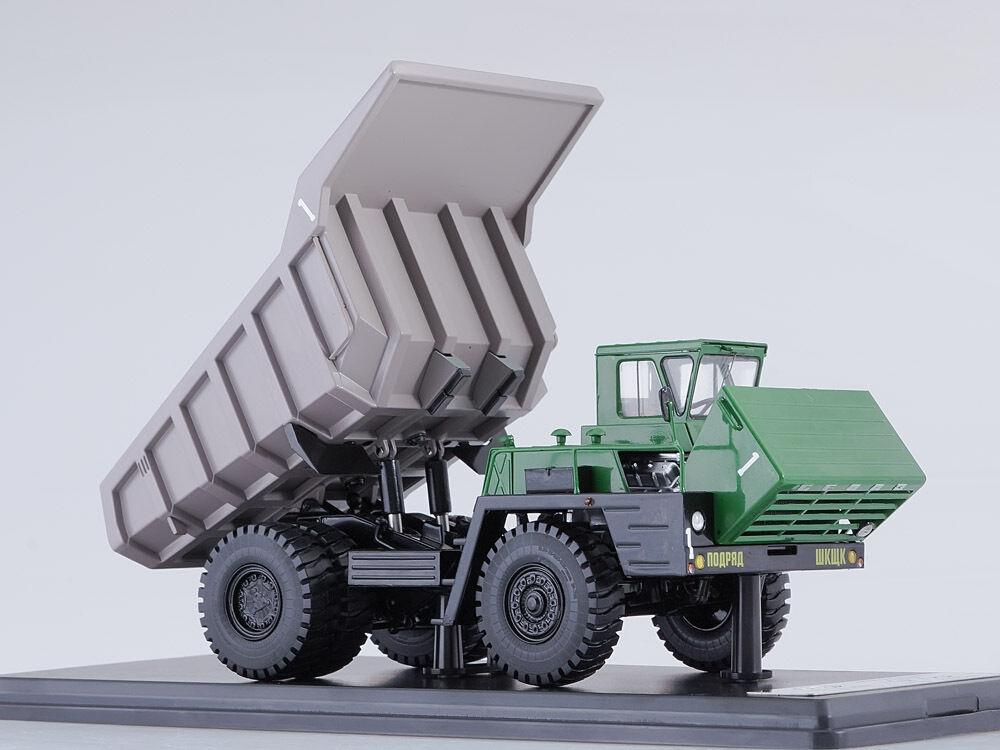 BELAZ 540A gruvvagn grön-grå SSM L016 L.E. 252 1 43