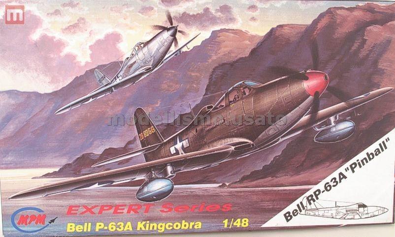 MPM 48038 Bell RP-63A Kingcobra  Pinball  1 48 modeling static