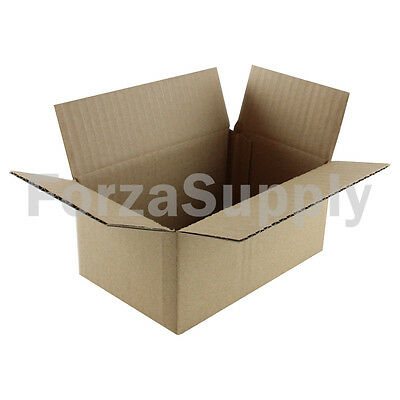 "30 8x4x3 /""EcoSwift/"" Brand Cardboard Box Packing Mailing Shipping Corrugated"