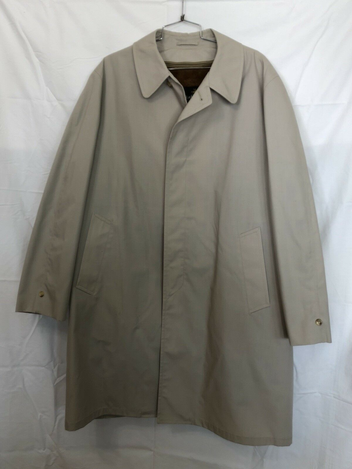 Men's Vintage Rainfair Rain Top Coat Size 46