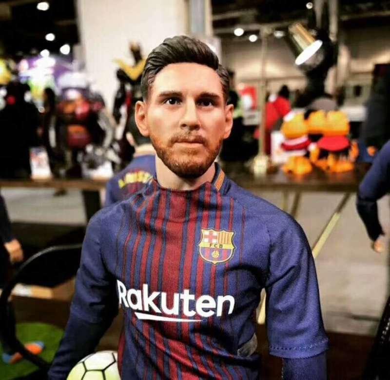 Messi 1:6 acción acción acción figura FCB Barcelona 16-17 temporada de fútbol Lujo recoger juguetes ad704c