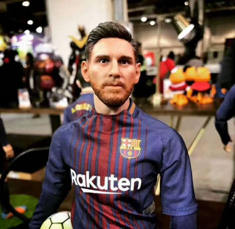 Football  Star Messi model  1 6 Action Figure FCB Barcelona 16-17 Football Seaso