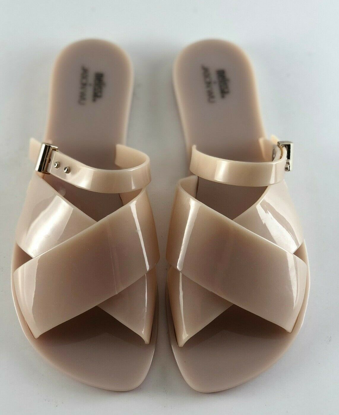 Melissa Jason Beige WU Sandals Women's 8