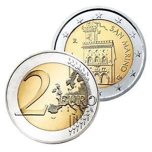 Ek // 2 euro Saint Marin # Pièce Nueve : Sélectionnez une Année :