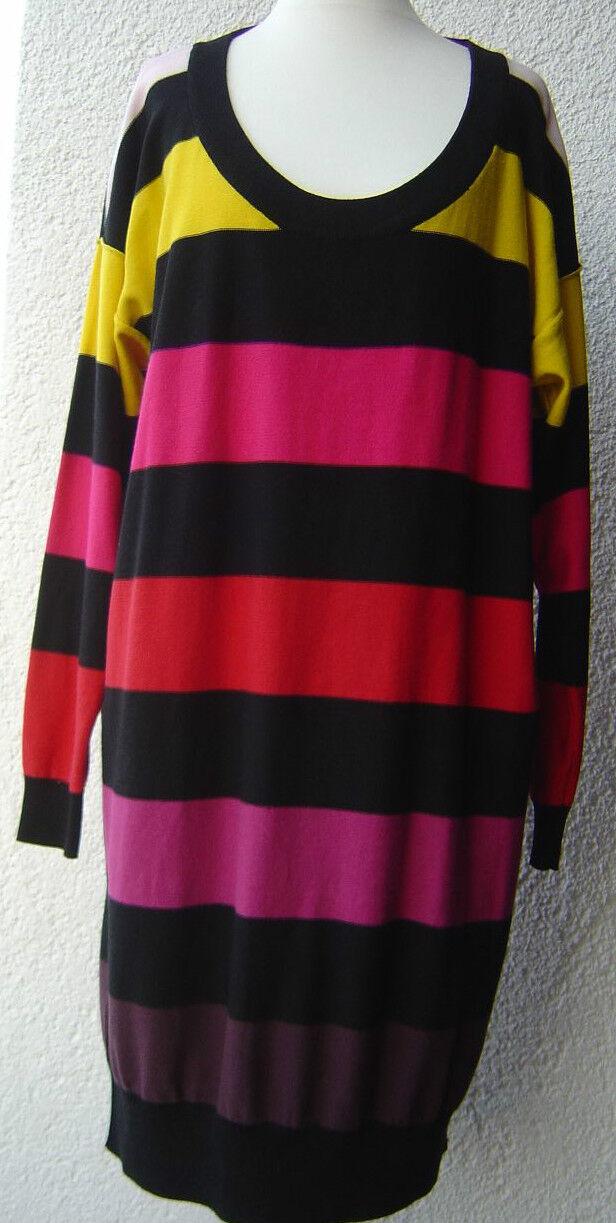 Sonia Rykiel pour h&m h&m h&m dress vestito coloreata abito a Maglia Pima Cotone taglia Dimensione M L dda698