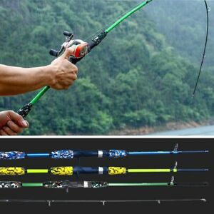 Spinning Casting Hand Lure Fishing Rod Carbon Pole Gear Ultralight Tools Outdoor
