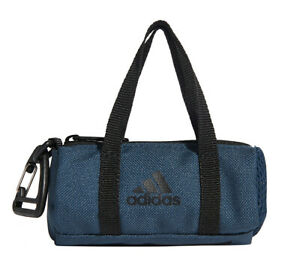 adidas Tiny Duffle Bag Mini Bag Pouch Keyring Casual Travel Bags Navy GL0879