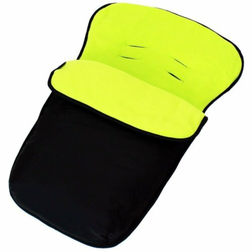 To Fit Cuggl Sparrow Group 0 Universal Car Seat Footmuff//cosy Toes Carseat