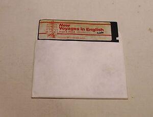 RARE-New-Voyages-in-English-Infinitives-Disk-for-Apple-II-II-IIe-IIc-IIGS