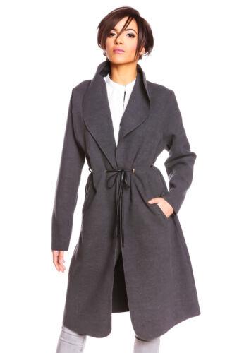 Comptoir des Cotonniers Damen Mantel Leonce Spatenkragen tailliert Größe M