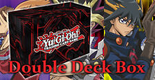 NEW! ZEXAL Dual Deck Box Porta Mazzo Doppio YU-GI-OH! Double Deck Case