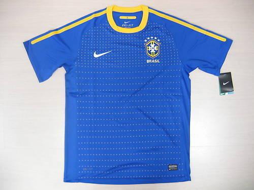 0952 NIKE TG XL BRÉSIL BRASIL BRAZIL TRICOT TRICOT BRAZIL HAUT UN MOYEN 2010 HAUT JERSEY e87ad8